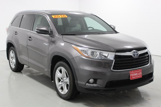 Pre Owned 2016 Toyota Highlander Hybrid Limited Platinum